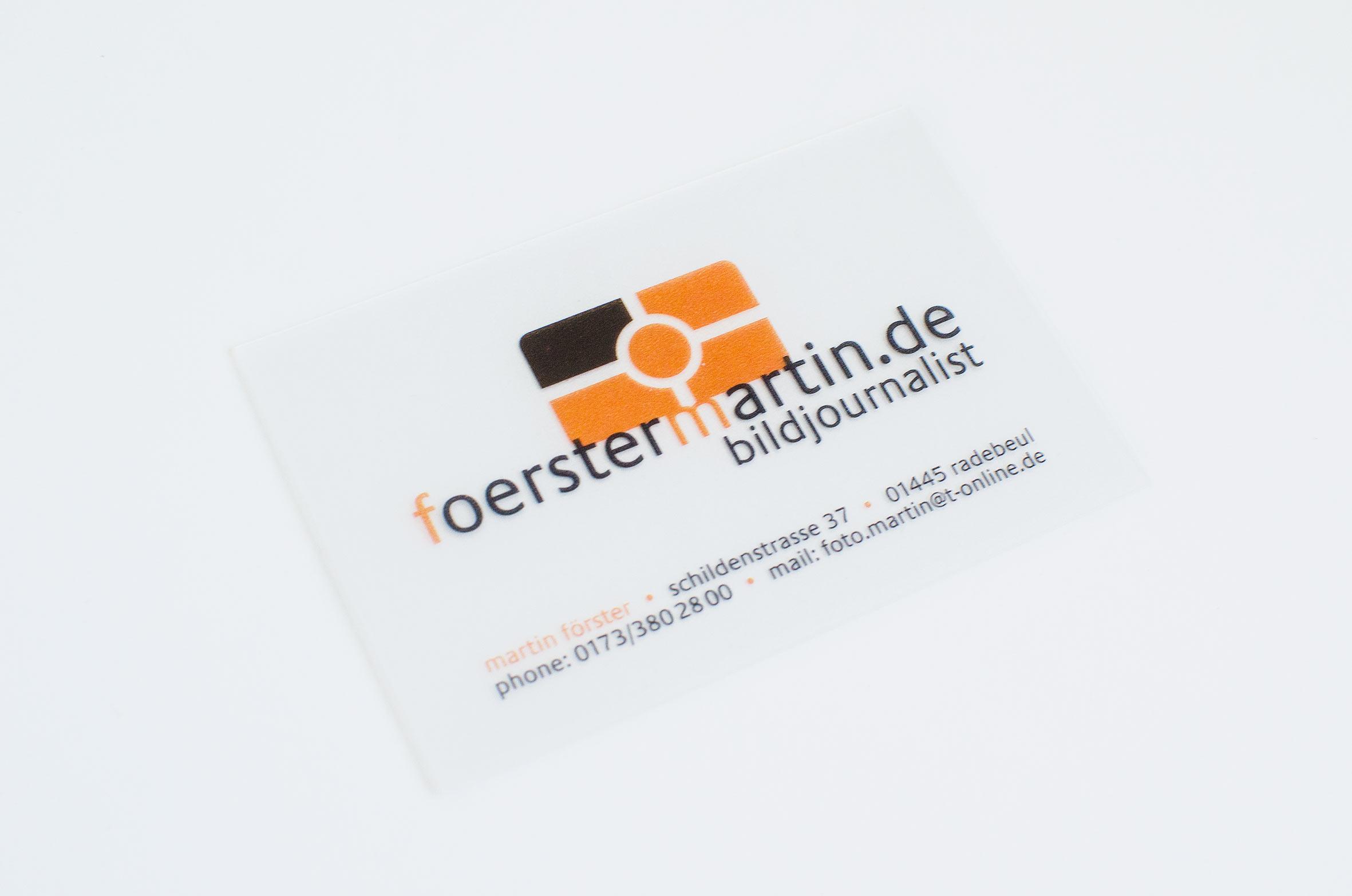 Logo, Visitenkarte, Werbung, Dresden, Fotograf