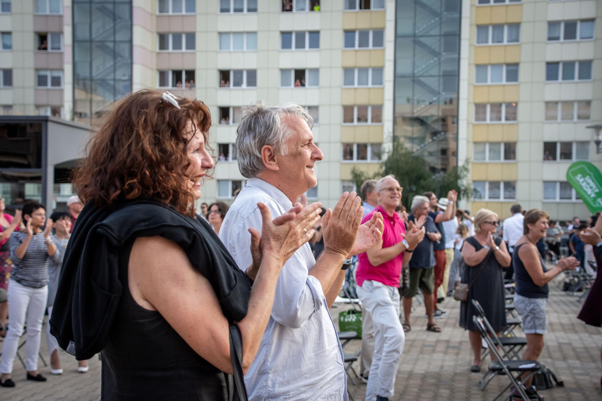 Himmel über Prohlis - Eventfotografie: Die Zuschauer sind begeistert