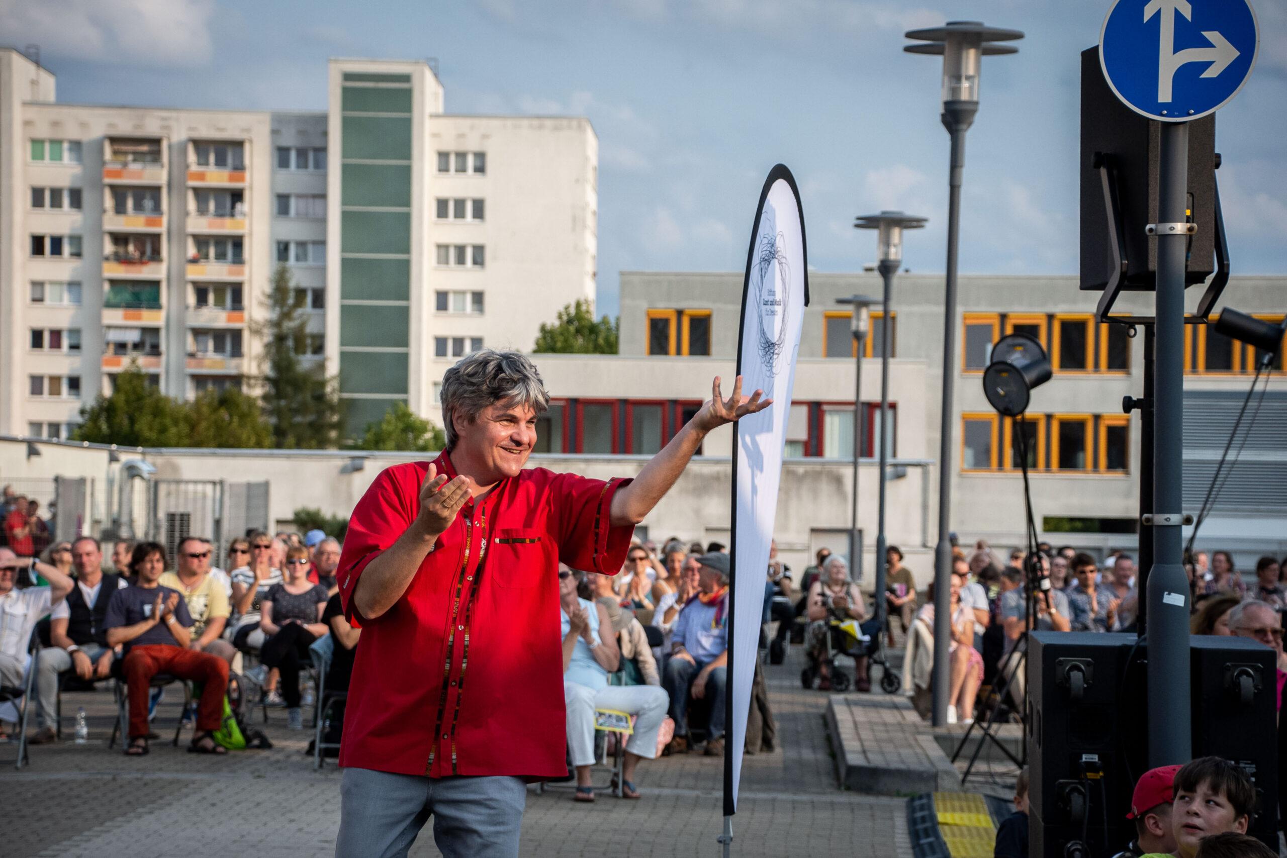 Himmel über Prohlis - Eventfotografie: Markus Rindt, Intendant der Dresdner Sinfoniker