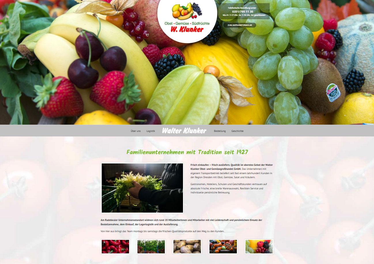 Webseiten-Erstellung Walter Klunker